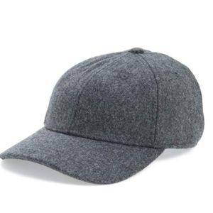 6216510e77b7d Topshop Accessories - Topshop women s grey wool baseball cap
